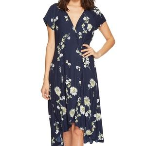 Free People Lost in You Midi Dress Large